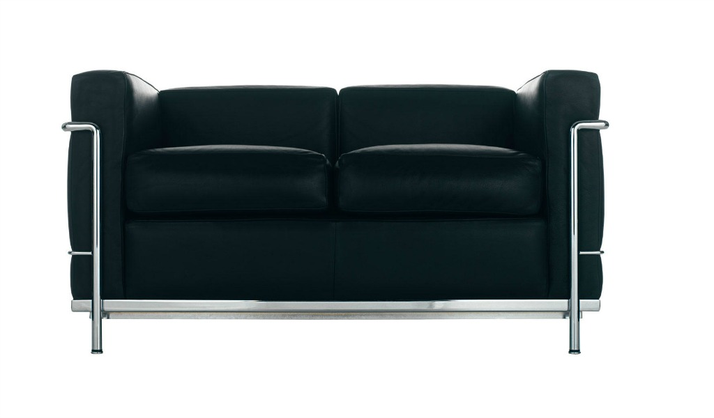 Core Leather Office Sofa With Steel Frame 2 Seater Boss S