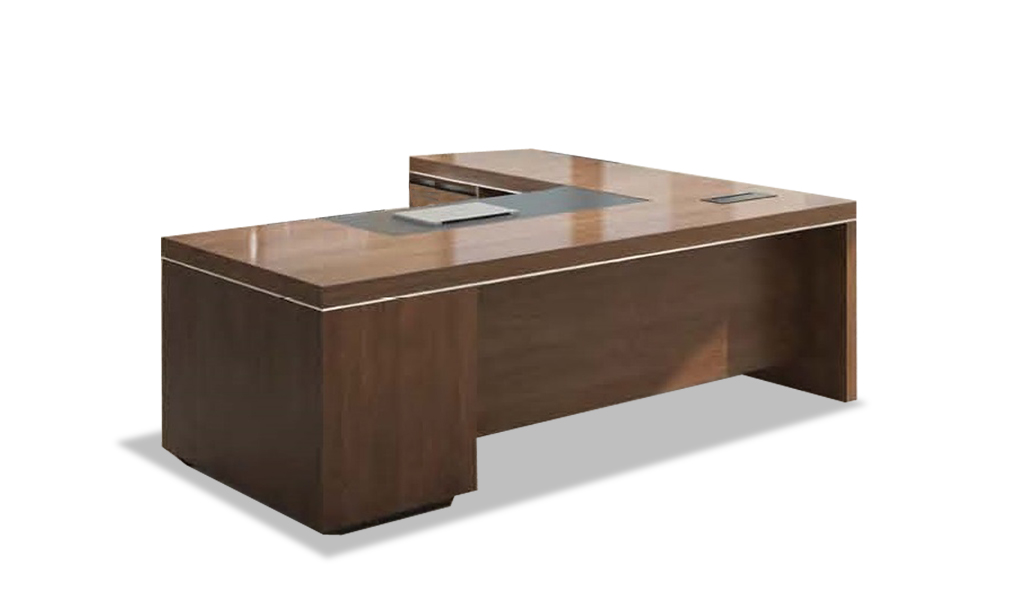 U0027Lexonu0027 7 Ft. L Shaped Office Table