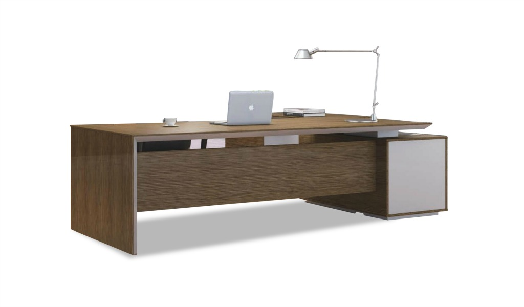 Modern Sirius Office Table With Side Cabinet Boss S Cabin
