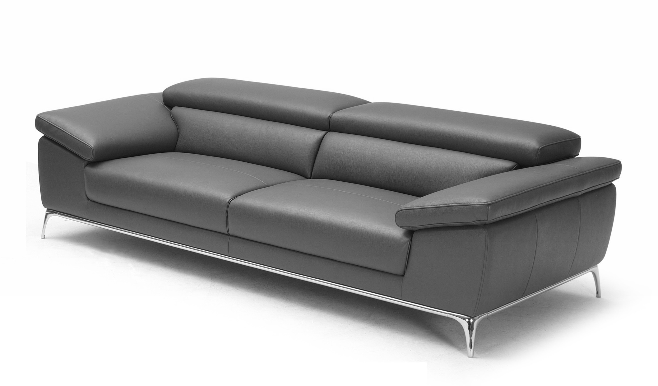 Ebony plush two seater office sofa in leather boss39s cabin for Office with sofa bed