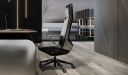 'Atlas' Luxury Office Chair In Nappa Leather