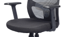 'Kite' High Back Chair With Adjustable Lumbar Support