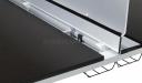 veneer workstation top with premium fittings