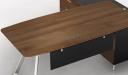 'Mary' 6 Feet Desk With Walnut Laminate Top
