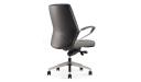 'Calm' Medium Back Chair In Premium Nappa Leather