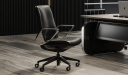 'Atlas' Luxury Low Back Chair In Nappa Leather