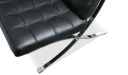 barcelona chair close up view