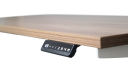 height adjustable office desk with digital control panel