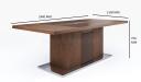 Miro Meeting Table In King Walnut