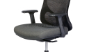 office chair with adjustable armrests