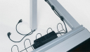 conference table wire management system
