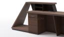 'Zefir' 9 Feet Reception Table In King Walnut