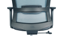 'Circa' Office Chair In Gray With Adjustable Lumbar Support