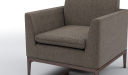 'Pluto' Single Seater Compact Office Sofa In Fabric