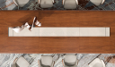 'Rodolfo' Luxury Boardroom Table in Rich Walnut Veneer