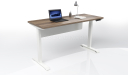 sit stand height adjustable office desk