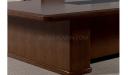 walnut veneer finish meeting table