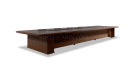 conference table in wood finish