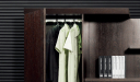 office cabinet with wardrobe section