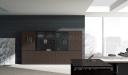 Full Height Office Cabinet In Oak Veneer