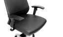 'Vertu' Ergonomic Office Chair In Leather