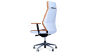 Coupe Office Chair In Tan Leather