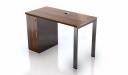 'Inspira' 4 Feet Desk With Storage Cabinet