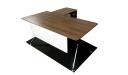 Office Table In Walnut Laminate