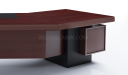 'Metro' 9 Feet Curved Top Office Table