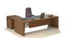 9 feet L shape office table with side return