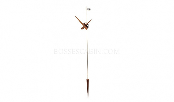 punto hanging wall clock from nomon