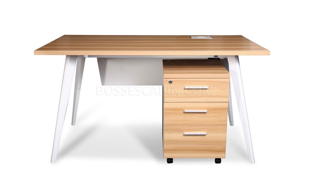 Soho Small Office Desk With Mobile Pedestal Bossescabin Com