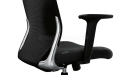 mesh back office chair with ergonomic design