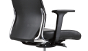 Vich Office Chair In Black Leather