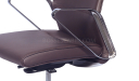 Hero Office Chair In Brown Leather