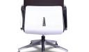 Hero High Back Office Chair In Brown Leather