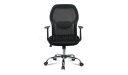 medium back computer chair with adjustable lumbar support