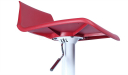 bar stool with height adjustment mechanism