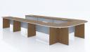 modern U shape conference table
