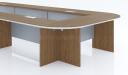 16 seater conference table in U shape