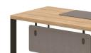 office table top in light oak finish