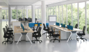 office with workstations and chairs
