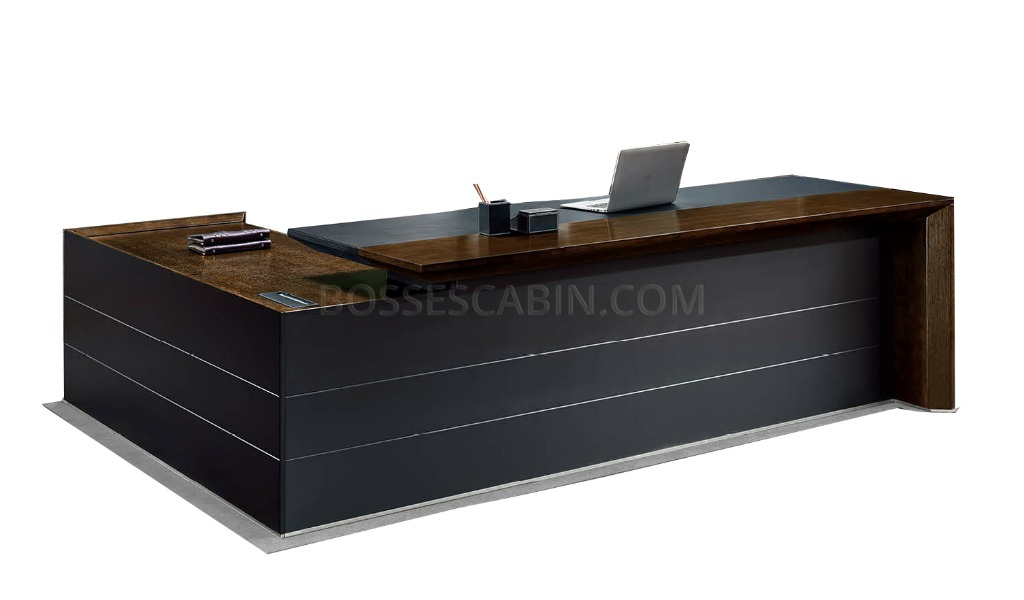 Office Table With Leather Top Luxury