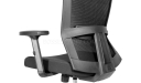 Power Office Chair With Adjustable Headrest, Armrests & Lumbar Support