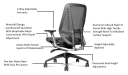 H'UP Medium Back Chair With Advanced Ergonomics