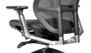 chair with aluminum alloy backrest