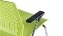 'Magna' Plastic Chair With Chrome Frame & Castors