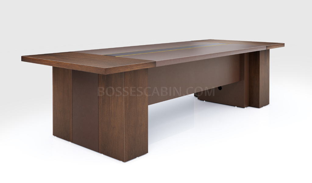 Picture of: 10 Seater Conference Table In Wood Meeting Tables Online Boss Scabin