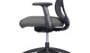 office chair with synchronized tilt mechanism